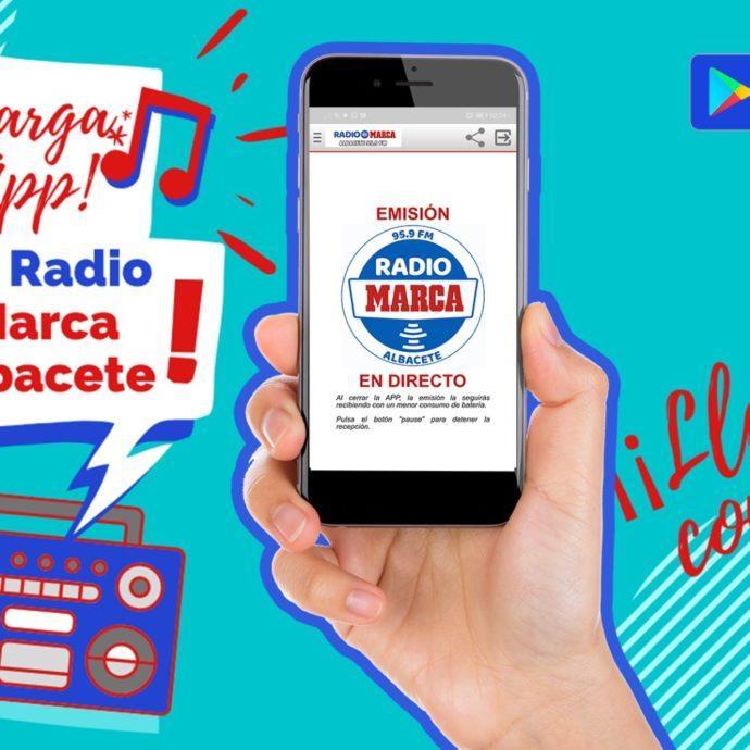 Descarga nuestra App y escucha Radio Marca Albacete allí donde estés