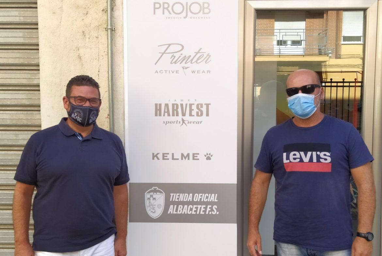 CMS ya luce como tienda del Albacete FS
