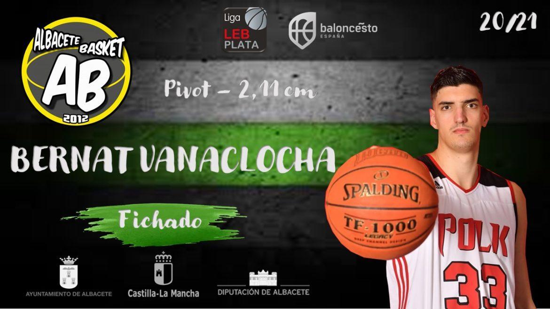 Bernat Vanaclocha, segundo fichaje del Albacete Basket