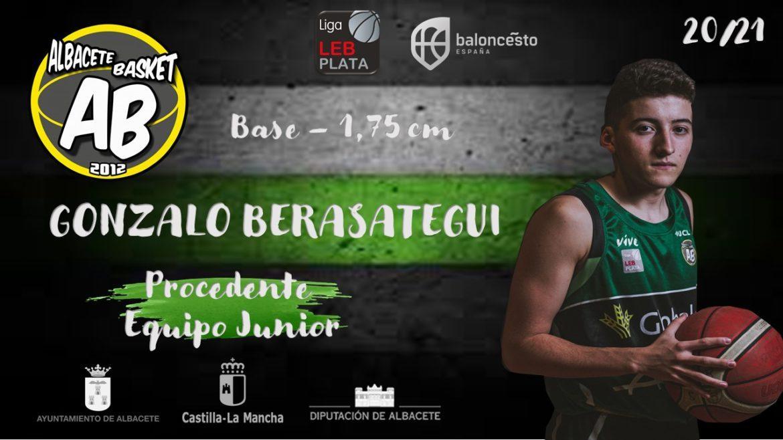 Gonzalo Berasategui nuevo jugador del Albacete Basket