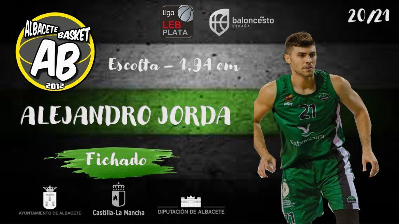 Álex Jordá refuerza la plantilla del Albacete Basket