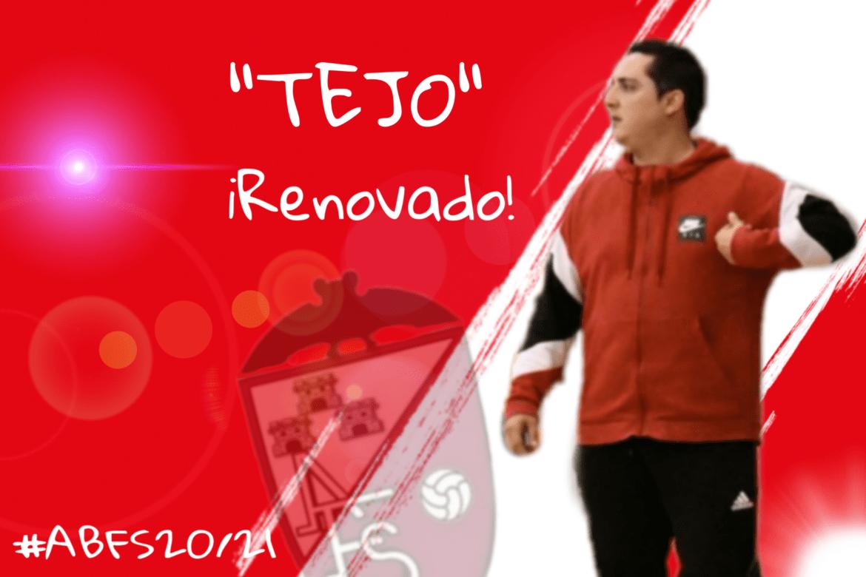 """""""Tejo"""" renueva con el Albacete Fútbol Sala"""