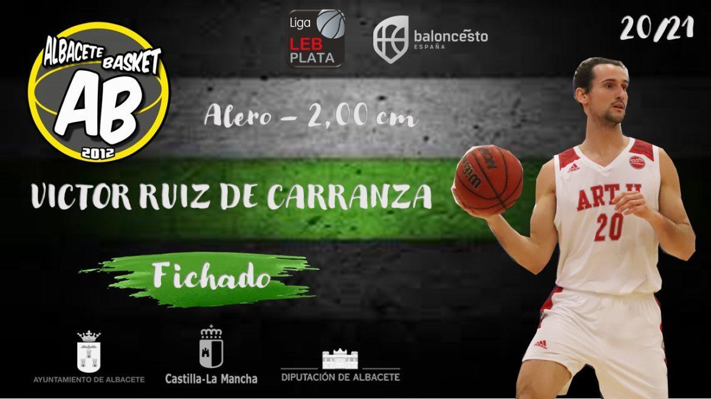 Víctor Ruiz de Carranza nuevo jugador del Albacete Basket