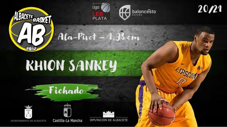 Khion Jamal Sankey nuevo fichaje del Albacete Basket