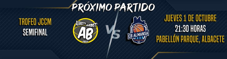 Albacete Basket y CB Almansa se miden en semis del Trofeo JCCM