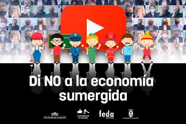 La plataforma por la legalidad de FEDA dice No a la economía sumergida