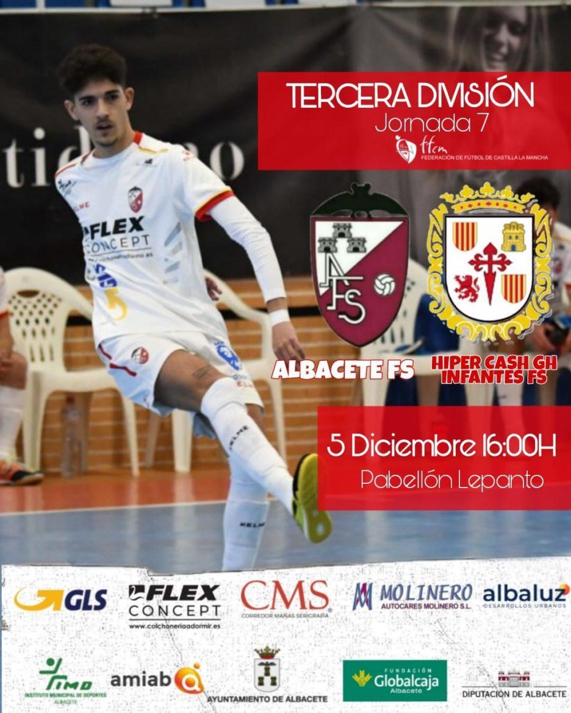Previa Jornada 7: Albacete FS - Infantes FS