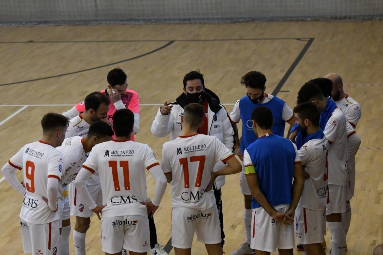 Tercera victoria consecutiva de un Albacete Fútbol Sala lanzado