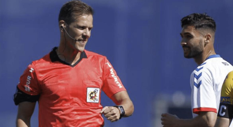 Pulido Santana reconoció su error del Mallorca - Albacete de playoffs