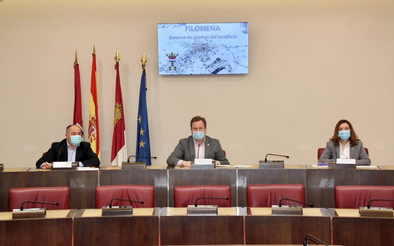 El Ayuntamiento hace balance de la gestión del temporal