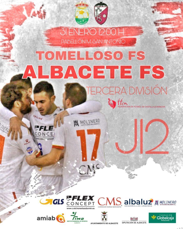 Previa   El Albacete Fútbol Sala a por 3 ptos. para seguir líderes