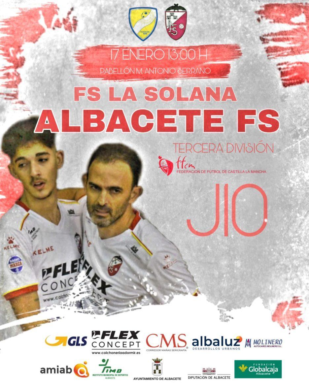 Previa|El Albacete Fútbol Sala a seguir líder