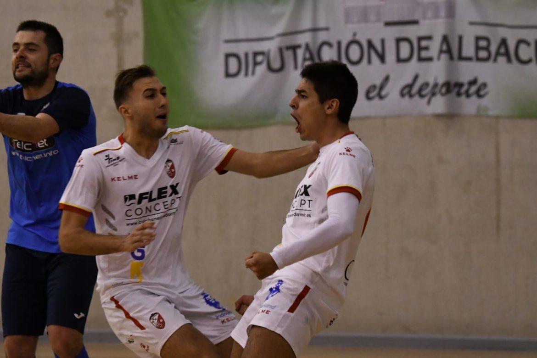 El Albacete FS suma de tres en un disputado encuentro