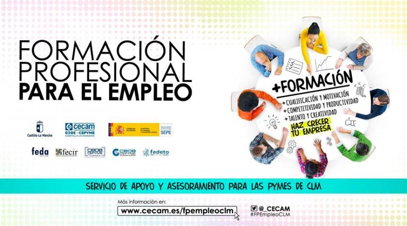 FEDA, en coordinación con CECAM, asesora a las empresas de Albacete sobre formación profesional para el empleo