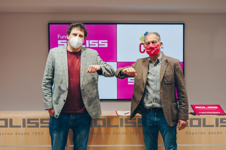 Fundación Soliss y Fundación CIEES renuevan su convenio de colaboración para 2021