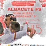 """Previa Jornada 15: Albacete FS - Viña Albali Valdepeñas """"B"""""""