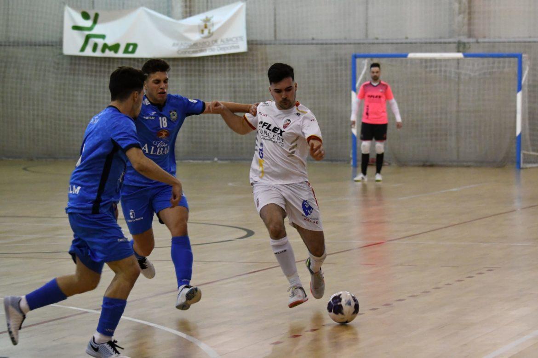 El Albacete FS pierde su condición de invicto ante el filial de Viña Albali