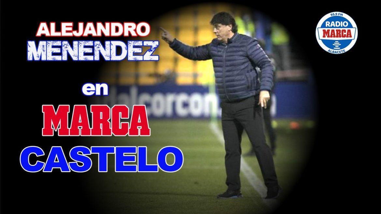 """Menéndez: """"El Albacete me llamó, pero yo decidí ir al Real Madrid"""""""