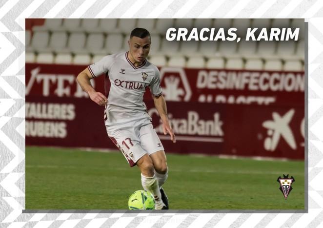 Karim Azamoum se desvincula del Albacete Balompié