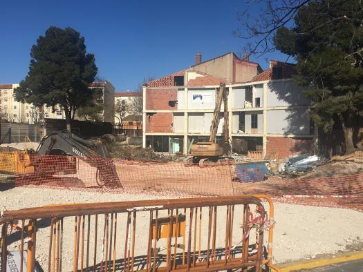 Mañana se inicia el derribo completo del Centro de Atención a la Salud (CAS) de Albacete