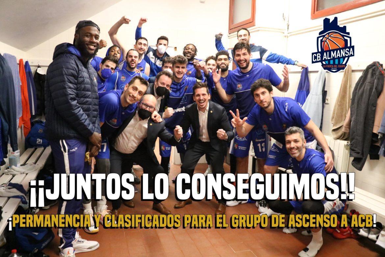 El CB Almansa luchará por el ascenso a la ACB
