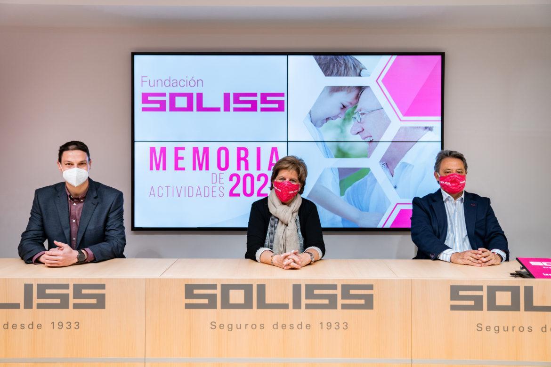 Fundación SOLISS publica su memoria de sostenibilidad del año 2020
