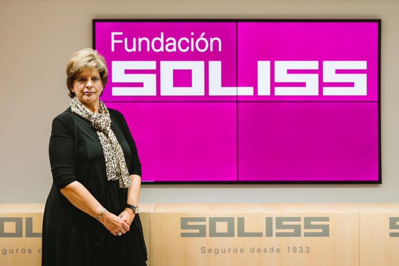 M.ª Luisa González Bueno, nueva presidenta de la Fundación Soliss.