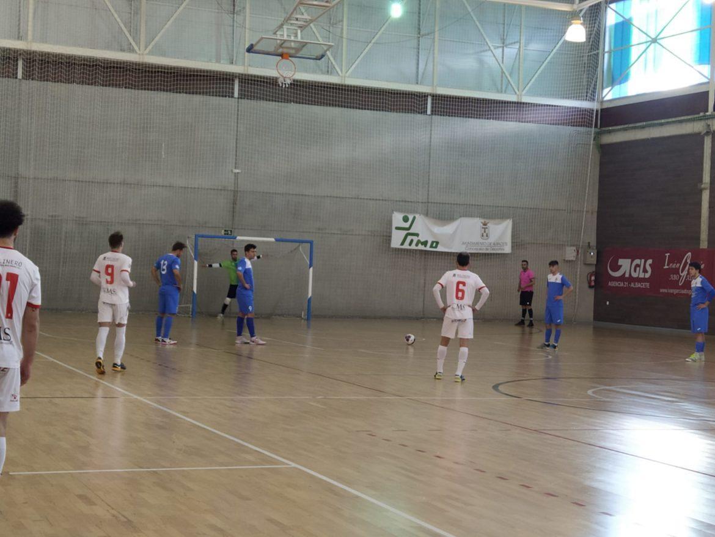 El Albacete FS comienza la fase de ascenso con una importante victoria en casa frente al FS Olías.