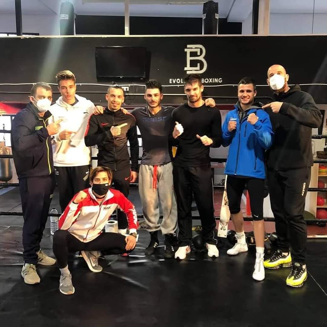 Boxeo: Elvis Sangou vence a los puntos en la Liga Nacional