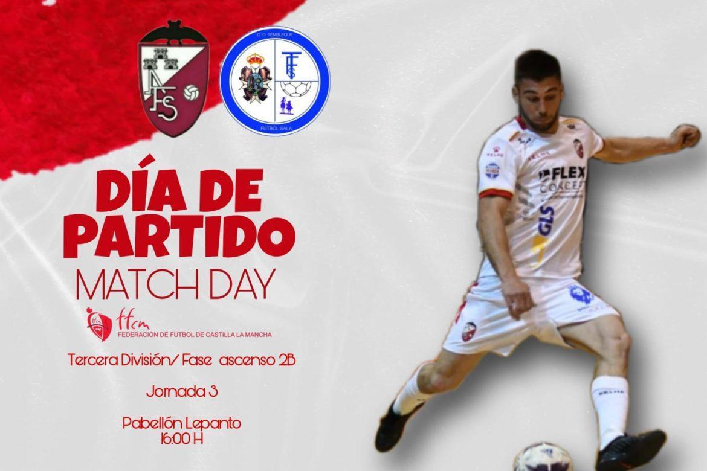 Previa Jornada 3 Fase de Ascenso: Albacete FS - CD Tembleque FS
