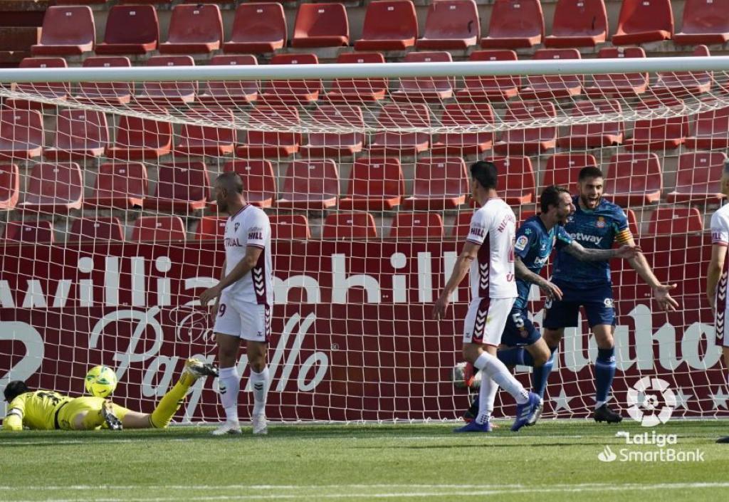 El Albacete, cada vez más cerca el descenso