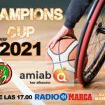 La Champions de baloncesto en silla de ruedas se juega en Radio Marca Albacete