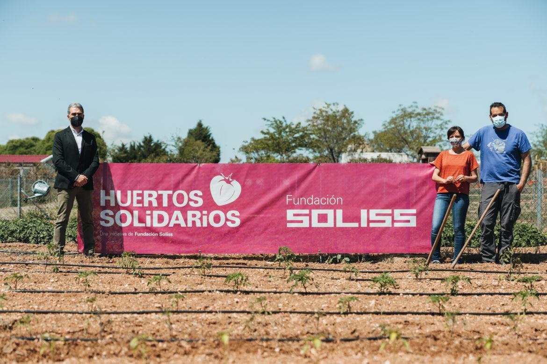 La Fundación Soliss abre un nuevo Huerto Solidario en Ciudad Real