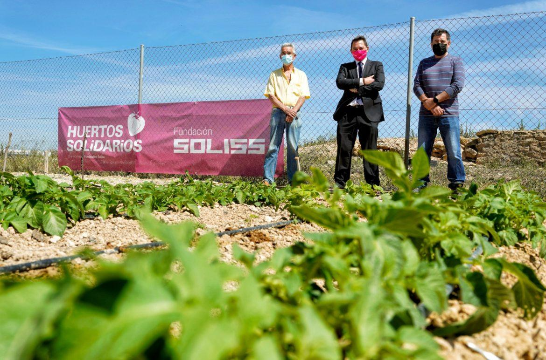 La Fundación Soliss abre un nuevo Huerto Solidario en Albacete