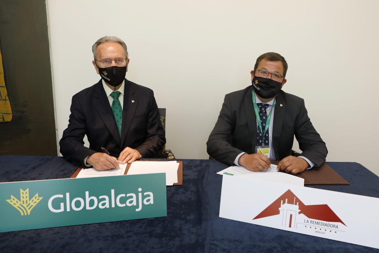 Globalcaja y la cooperativa La Remediadora unen esfuerzos en defensa de los intereses de agricultores y ganaderos