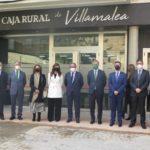 La Asociación Española de Cajas Rurales arropa a Caja Rural de Villamalea en la inauguración de su nueva sede