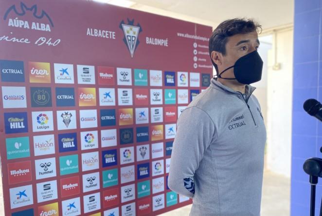 """Noguerol: """"Entrenar al Alba no es un marrón, es una responsabilidad muy grande"""""""