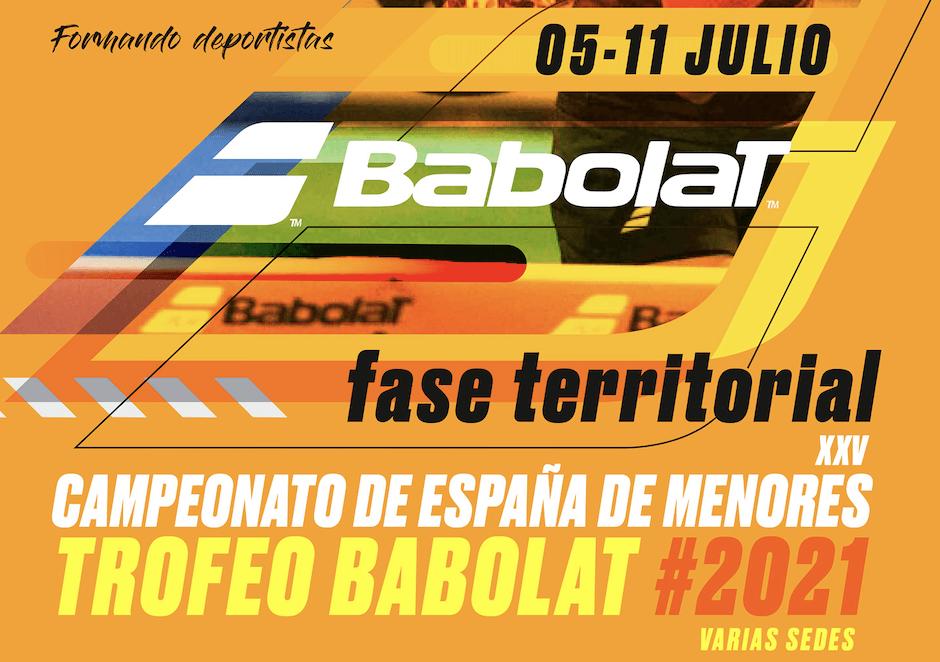 Llega la Fase Territorial del Campeonato de España de Pádel para menores
