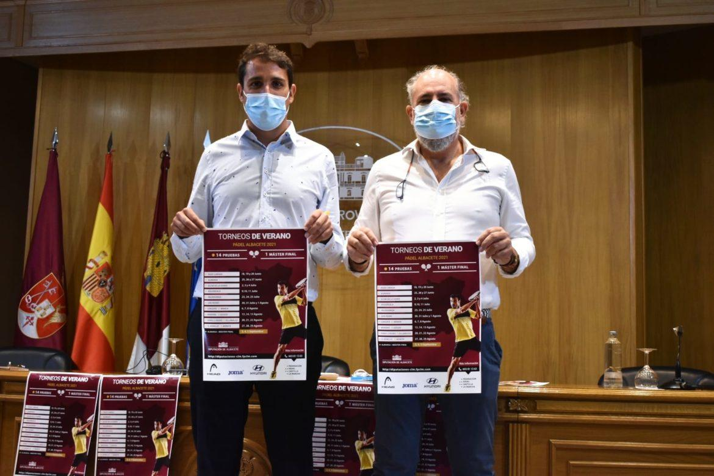 La Diputación de Albacete impulsa el 'I Circuito Provincial de Torneos de Verano de Padel'
