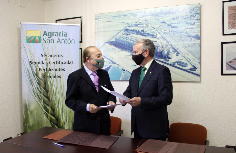 Globalcaja afianza su compromiso con el sector agrícola de la mano de Agraria San Antón