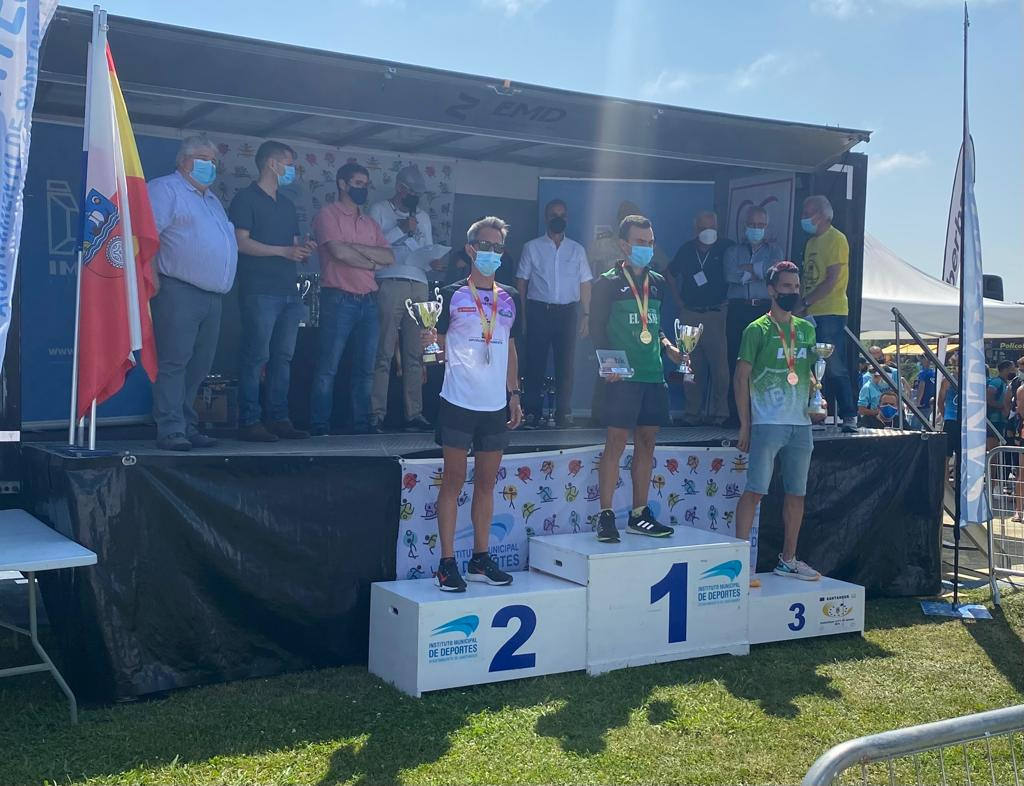 Severino Felipe se proclama subcampeón de España