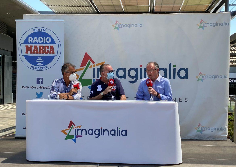 Radio Marca Albacete reúne en Imaginalia al Queso Mecánico por el 30 aniversario del ascenso a Primera