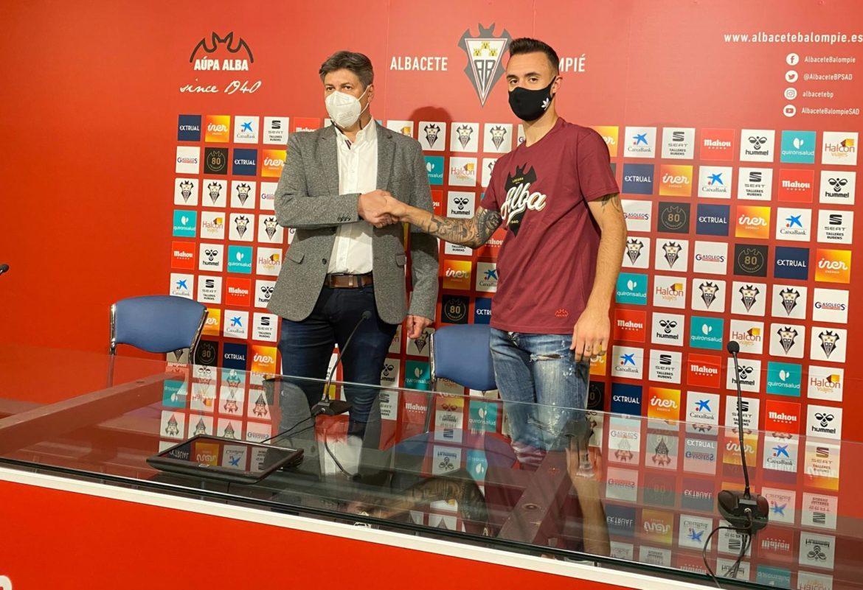 """Andreu Arasa: """"No tengo presión por las expectativas, el ascenso es un reto"""""""