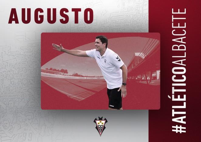 Augusto Teruel es el nuevo entrenador del Atlético Albacete