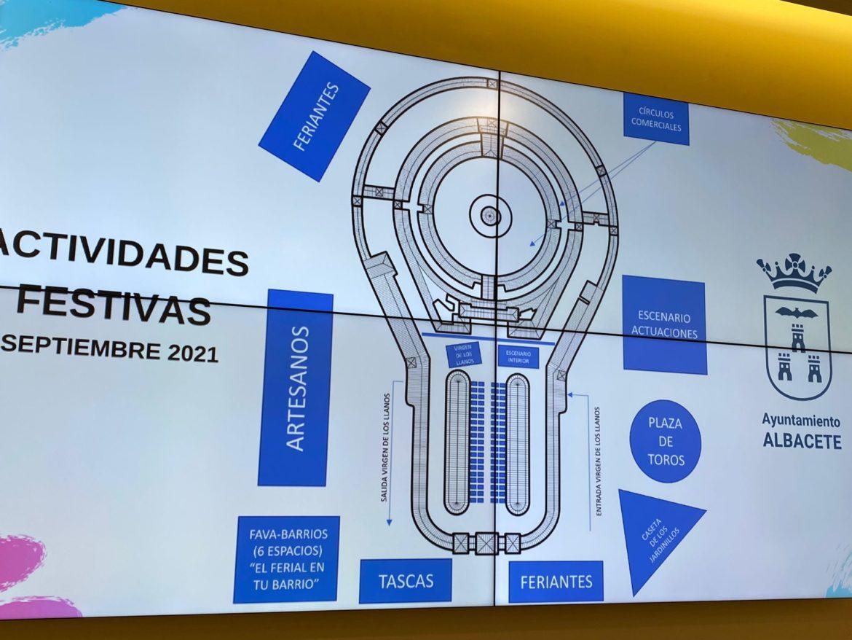 Diversas actividades festivas sustituirán a la Feria de Albacete