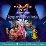 La exposición 'MASK SINGER' adivina quién canta desembarca este verano en Albacenter