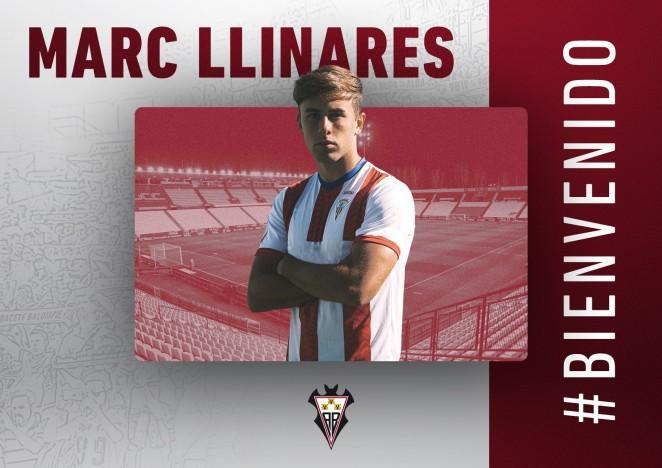 El Albacete hace oficial el fichaje de Marc Llinares