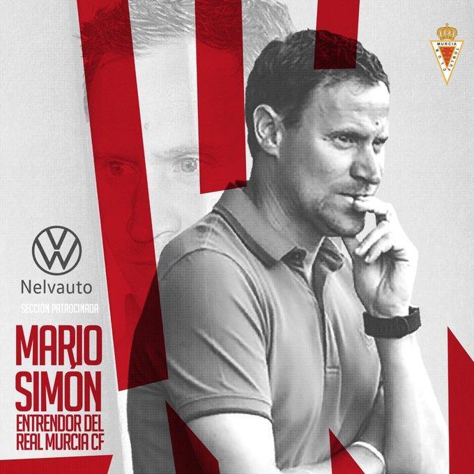 Mario Simón ficha por el Real Murcia