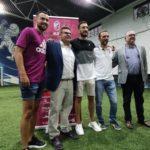 """El Albacete FS otorga la insignia de oro a Raúl Gómez y """"Chino"""""""