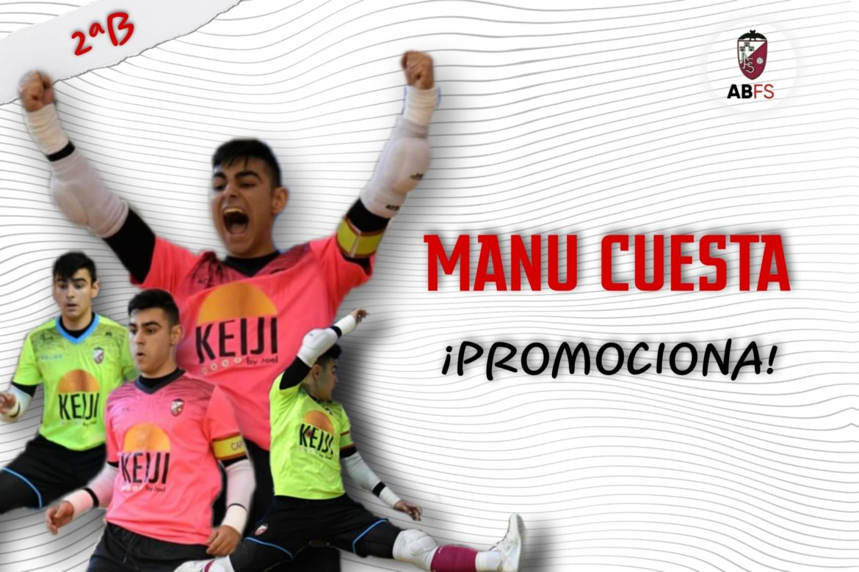Manu Cuesta promociona hasta el primer equipo del Albacete FS